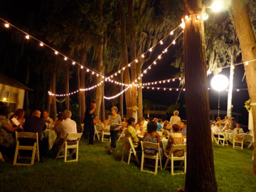 Outdoor Lighting Rental Company In Tampa West Coast Rental